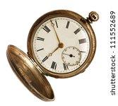 Old Pocket Watch  Open ...