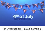 4th of july independence day... | Shutterstock .eps vector #1115529551