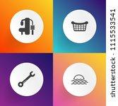 modern  simple vector icon set... | Shutterstock .eps vector #1115533541