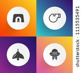 modern  simple vector icon set... | Shutterstock .eps vector #1115535491