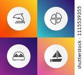 modern  simple vector icon set... | Shutterstock .eps vector #1115539355