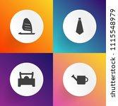 modern  simple vector icon set... | Shutterstock .eps vector #1115548979