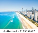 surfers paradise beach from an... | Shutterstock . vector #1115552627