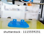 3d printer of the device during ... | Shutterstock . vector #1115559251