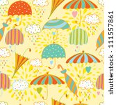 colorful seamless pattern with... | Shutterstock .eps vector #111557861