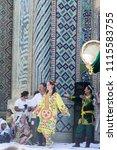 bukhara  uzbekistan   may 26 ... | Shutterstock . vector #1115583755