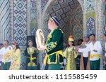 bukhara  uzbekistan   may 26 ... | Shutterstock . vector #1115585459