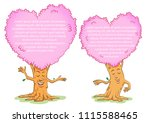 couple of funny tree. two funny ...   Shutterstock .eps vector #1115588465