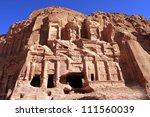 ancient city of petra built in... | Shutterstock . vector #111560039