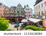 linz am rhein  germany  may 31  ... | Shutterstock . vector #1115618084