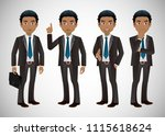 elegant people business people   Shutterstock .eps vector #1115618624