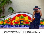 summer traveling in miami | Shutterstock . vector #1115628677