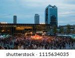 osaka  japan   july 22   umeda... | Shutterstock . vector #1115634035