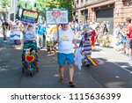 portland or  usa   june 17 ... | Shutterstock . vector #1115636399