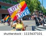 portland or  usa   june 17 ... | Shutterstock . vector #1115637101