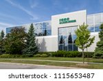 Small photo of Vaughan, Ontario, Canada - June 10, 2018: Toro Aluminum sign on the head office building in Vaughan, Ontario, the leader in the development and manufacturing of window walls and doors.