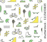 vector seamless pattern with... | Shutterstock .eps vector #1115653835