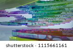abstract white and colored... | Shutterstock . vector #1115661161