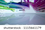 abstract white and colored... | Shutterstock . vector #1115661179