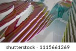 abstract white and colored... | Shutterstock . vector #1115661269
