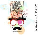 vector illustration of an... | Shutterstock .eps vector #111566309