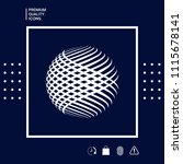 logo design. earth symbol | Shutterstock .eps vector #1115678141