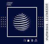 earth symbol logo design | Shutterstock .eps vector #1115683205