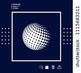 earth symbol   logo design | Shutterstock .eps vector #1115683211