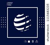 earth logo design symbol | Shutterstock .eps vector #1115683235