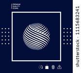 earth logo design | Shutterstock .eps vector #1115683241