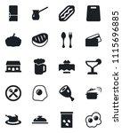 set of vector isolated black...   Shutterstock .eps vector #1115696885