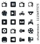 set of vector isolated black...   Shutterstock .eps vector #1115697575