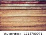 vintage tone image of wood... | Shutterstock . vector #1115700071