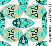 vector illustration. abstract... | Shutterstock .eps vector #1115705195
