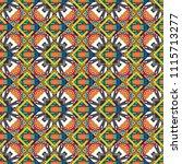 seamless geometric pattern of... | Shutterstock . vector #1115713277