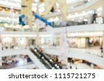 abstract blur and defocused... | Shutterstock . vector #1115721275