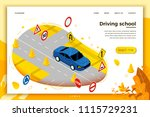 vector concept illustration  ... | Shutterstock .eps vector #1115729231