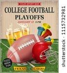 college playoffs football... | Shutterstock .eps vector #1115732981