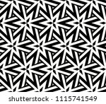 seamless pattern with symmetric ... | Shutterstock .eps vector #1115741549