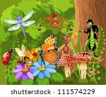 bug world | Shutterstock .eps vector #111574229