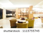 abstract blur and defocused... | Shutterstock . vector #1115755745