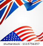 realistic detailed 3d united... | Shutterstock .eps vector #1115756357