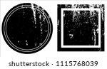 grunge texture set | Shutterstock .eps vector #1115768039