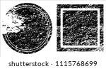 grunge texture set | Shutterstock .eps vector #1115768699