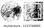 grunge texture set | Shutterstock .eps vector #1115768885