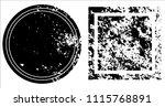 grunge texture set | Shutterstock .eps vector #1115768891