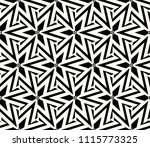seamless pattern with symmetric ... | Shutterstock .eps vector #1115773325