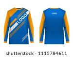 templates jersey for... | Shutterstock .eps vector #1115784611