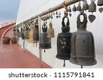 bell of buddhism in the thai... | Shutterstock . vector #1115791841