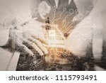 artificial intelligence  ai ... | Shutterstock . vector #1115793491